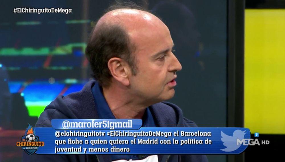 """Juanma Rodríguez: """"Lo del Barça en este final de temporada es la 14ª"""""""