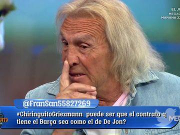 """Loco Gatti: """"Messi sería más grande en el Madrid. Está aburrido"""""""