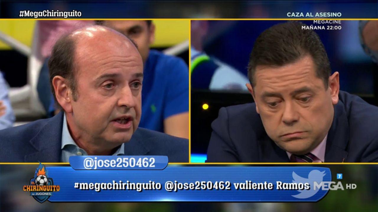 Máxima Tensión Entre Tomás Roncero Y Juanma Rodríguez Tras