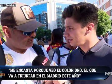 La nueva camiseta del Real Madrid, a examen entre la afición blanca