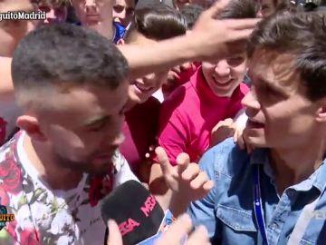 La afición del Real Madrid, ilusionada con la llegada de Luka Jovic