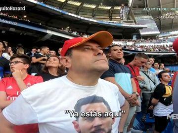 La emoción de Roncero: ilusionado con la llegada de Hazard