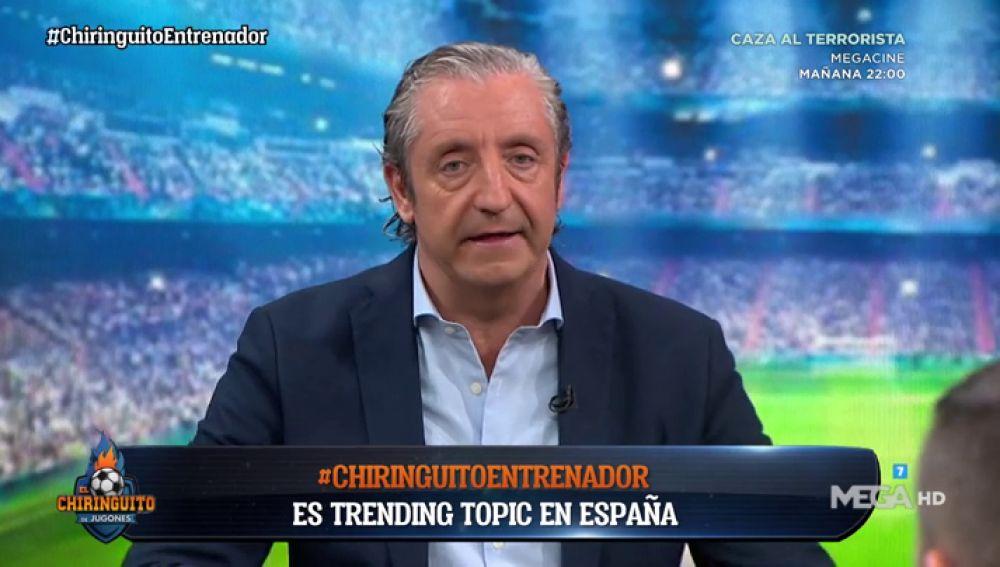 """Josep Pedrerol: """"Hay gente que trabaja mucho para poder pagarse el título"""""""