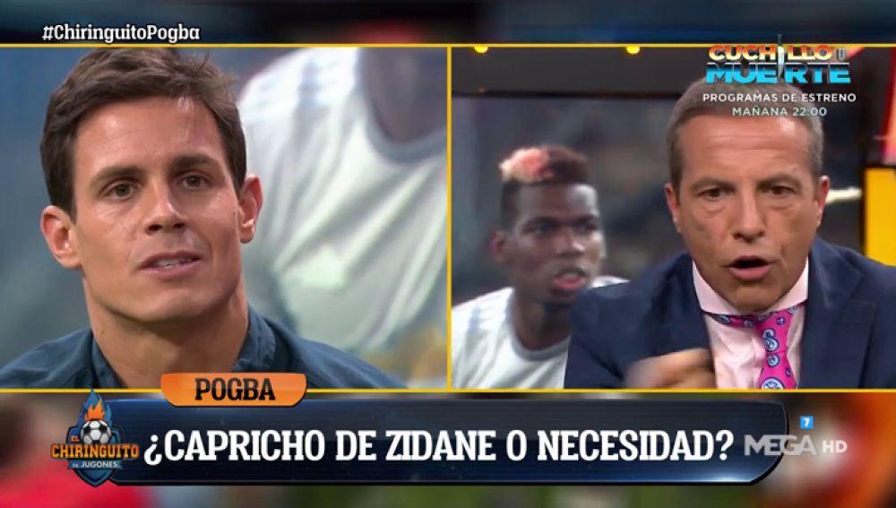 """Cristóbal Soria: """"Pogba es el mejor en su posición y por eso debería venir"""""""