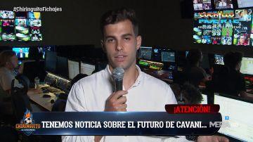 """Marcos Benito: """"Cavani renovará un año más con el PSG"""""""