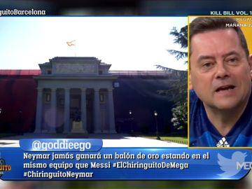 """Tomás Roncero: """"Joao Felix no puede ir a la Sala de Champions del Atleti, tiene que ir al Prado"""""""