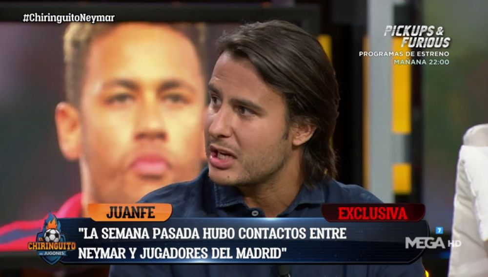 """Juanfe Sanz: """"El vestuario del Madrid ve necesario a Neymar pero cree que la plantilla está cerrada"""""""
