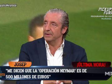 """Josep Pedrerol: """"El Real Madrid estima la 'Operación Neymar en más de 500 millones"""""""