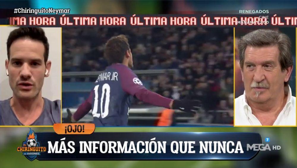 """Quim Domènech: """"Bartomeu tiene una última bala para fichar a Neymar"""""""