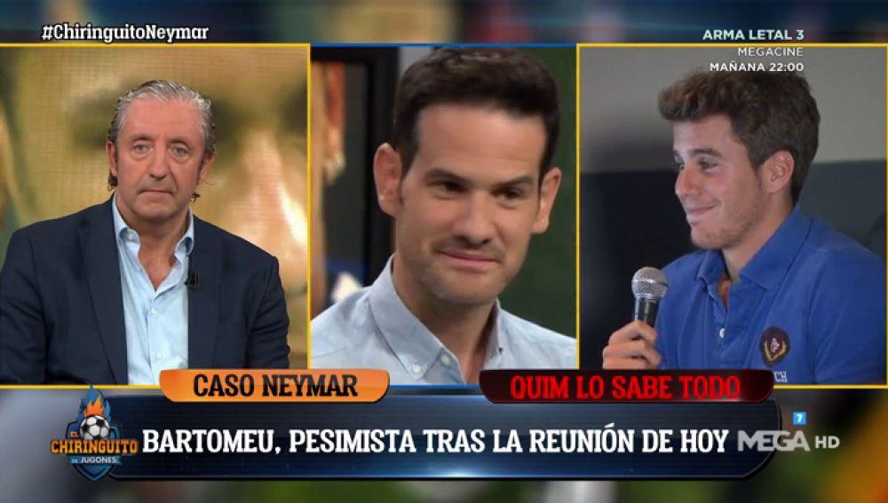 """Quim Domènech, sobre el 'Caso Neymar': """"Pinta que nos vamos al lunes"""""""