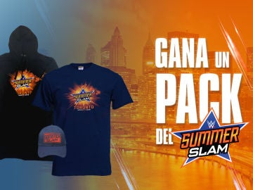¿Quieres uno de estos packs del SummerSlam? Participa