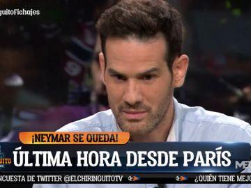 """Quim Domènech: """"Neymar estaba llorando en su casa el sábado"""""""