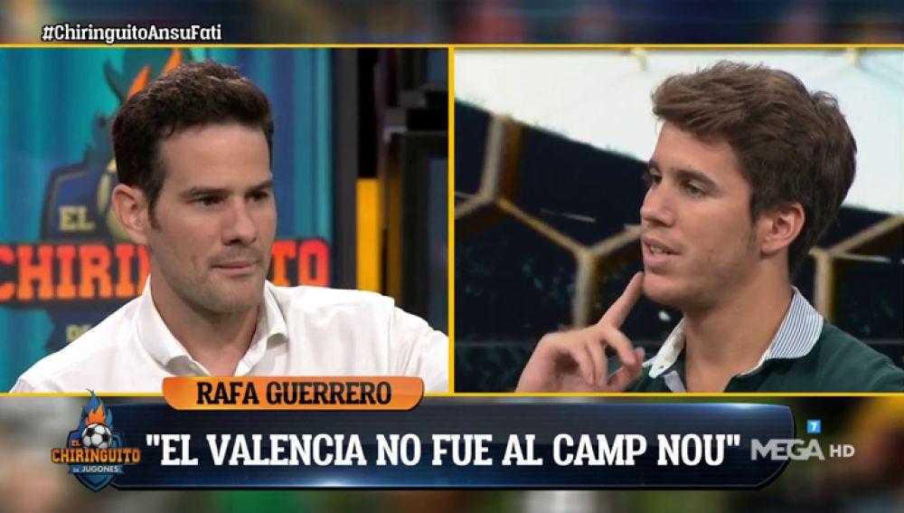 """Alex Silvestre: """"Anímicamente, el Valencia del Camp Nou fue el peor de los últimos años"""""""