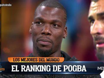 El ránking de los mejores jugadores del mundo para Mathías Pogba
