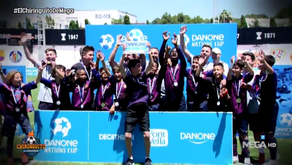 Fútbol, ilusión y el deporte con valores en la final mundial de la Danone Nations Cup