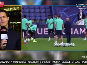 """Edu Aguirre: """"Veo al Real Madrid con ganas de dar un golpe en Europa y ganando bien al PSG"""""""