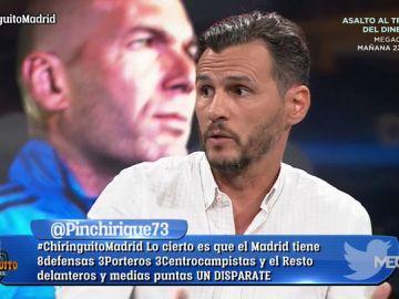 """Capi: """"Antiguamente, iba acoj***** a jugar contra el Real Madrid y ahora no da miedo"""""""