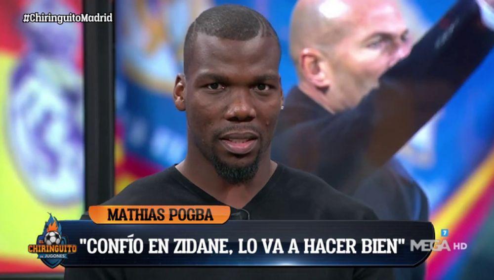 "Mathías Pogba: ""Mi hermano Paul Pogba es mejor que Fede Valverde"""
