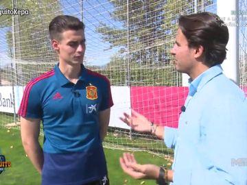 """Kepa Arrizabalaga: """"Me gustaría volver algún día al Athletic Club"""""""