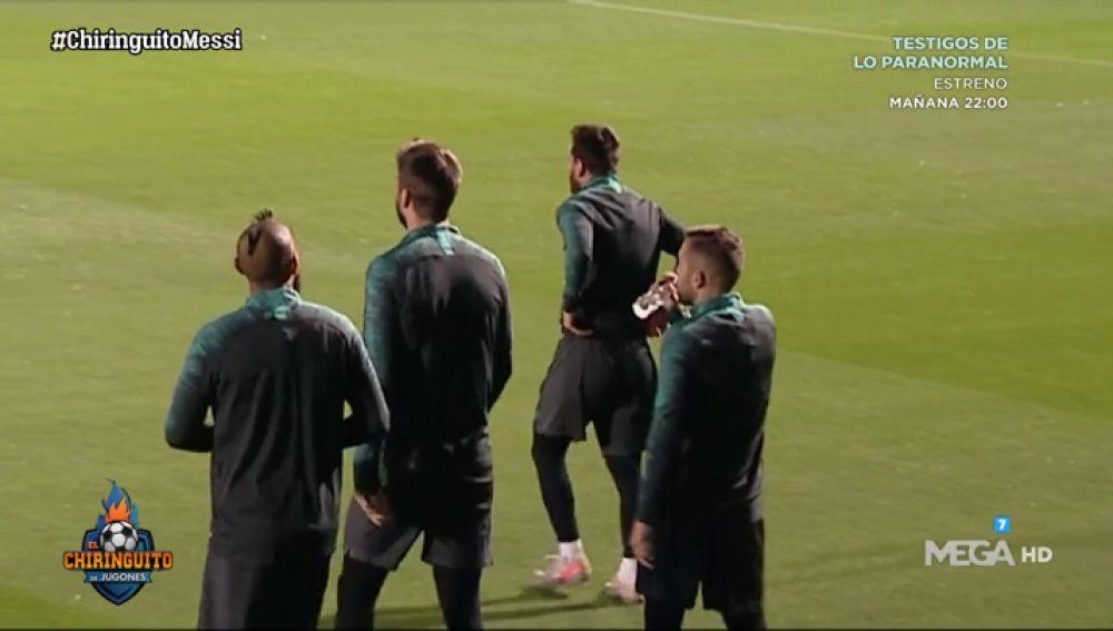 El Barça recupera la sonrisa en la previa de la Champions