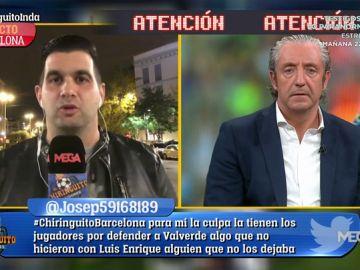 """José Álvarez: """"A Messi le encanta el 'Muñeco' Gallardo para entrenar al Barça"""""""