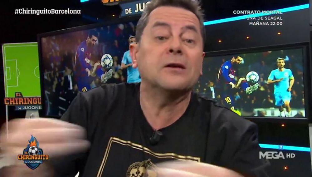 """Tomás Roncero: """"Al Barça y a Messi se les ha 'APRAGADO' la luz"""""""
