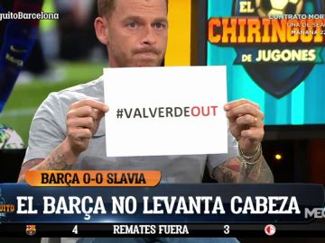 Tremendo enfado de Jota Jordi con el Barça y Ernesto Valverde