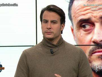 """Juanfe Sanz: """"Hubo una situación tensa entre Luis Enrique y Robert Moreno cuando le dijo que quería volver"""""""