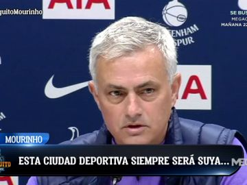 """Mourinho: """"Florentino es mi amigo. Yo le amo y él a mí"""""""