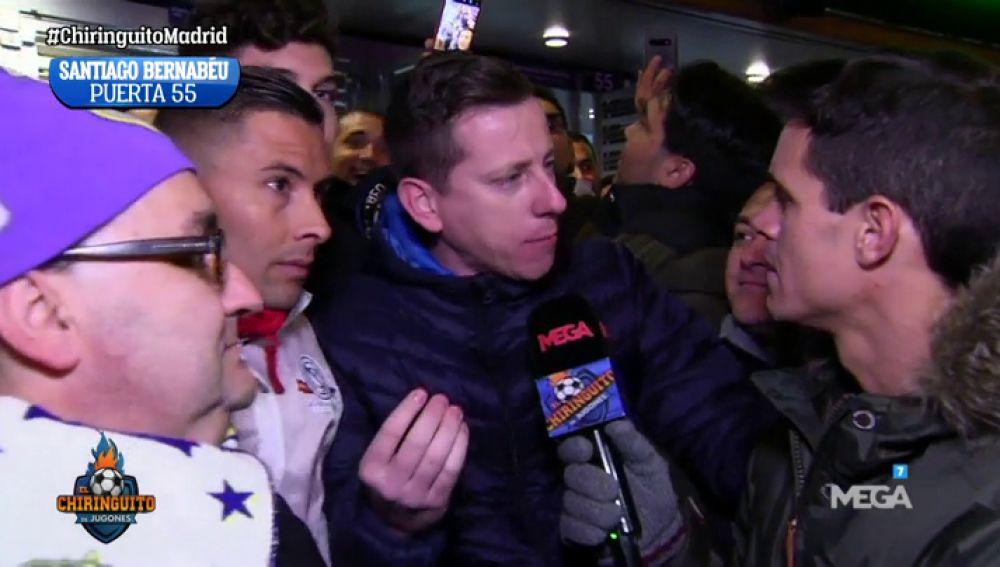 La afición no perdona a Bale y ya piensa en el PSG en 'El Chiringuito de Aguirre'