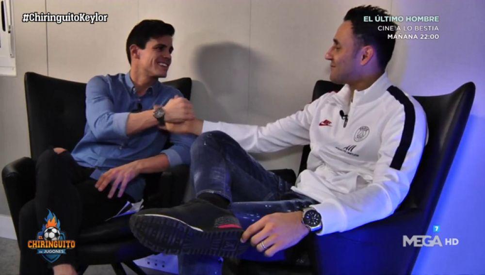 """Keylor Navas: """"Tuvo momentos de dudas en el Real Madrid"""""""