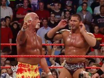 Batista y Hulk Hogan