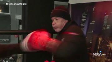 Alfredo Duro prepara su combate de boxeo del jueves 12 de diciembre