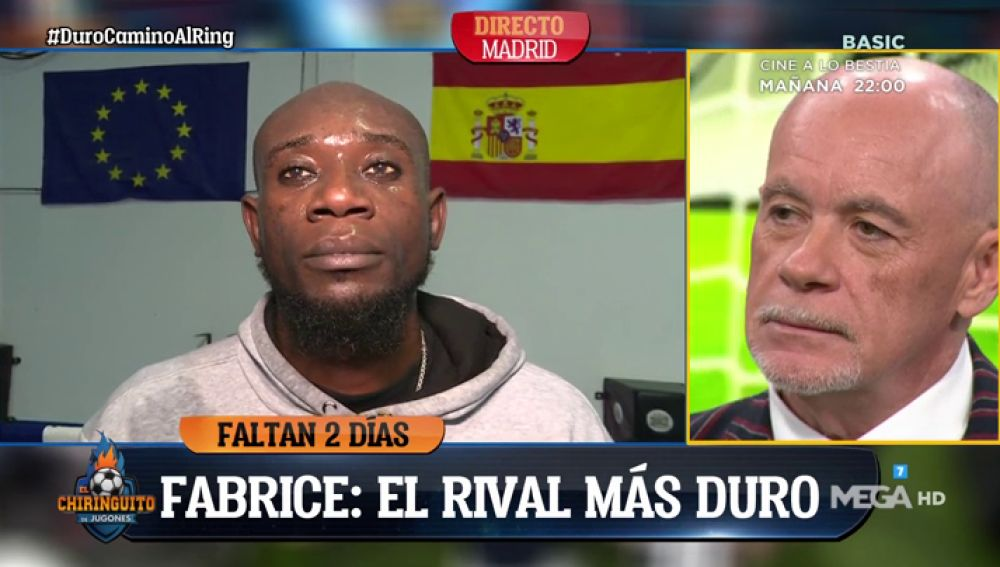Alfredo Duro conoce a su rival en el combate de boxeo en directo