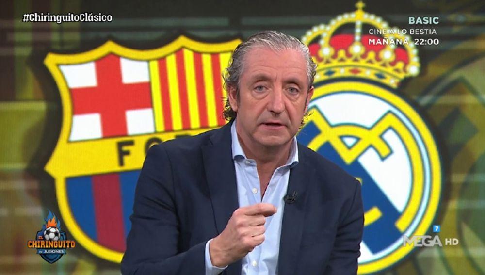"""Josep Pedrerol: """"¿Libertad de expresión? Que pongan una pancarta de 'BARTOMEU, DIMISIÓN', a ver cuánto dura..."""""""
