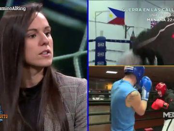 Joana Pastrana, 3 veces campeona del mundo de boxeo, en El Chiringuito