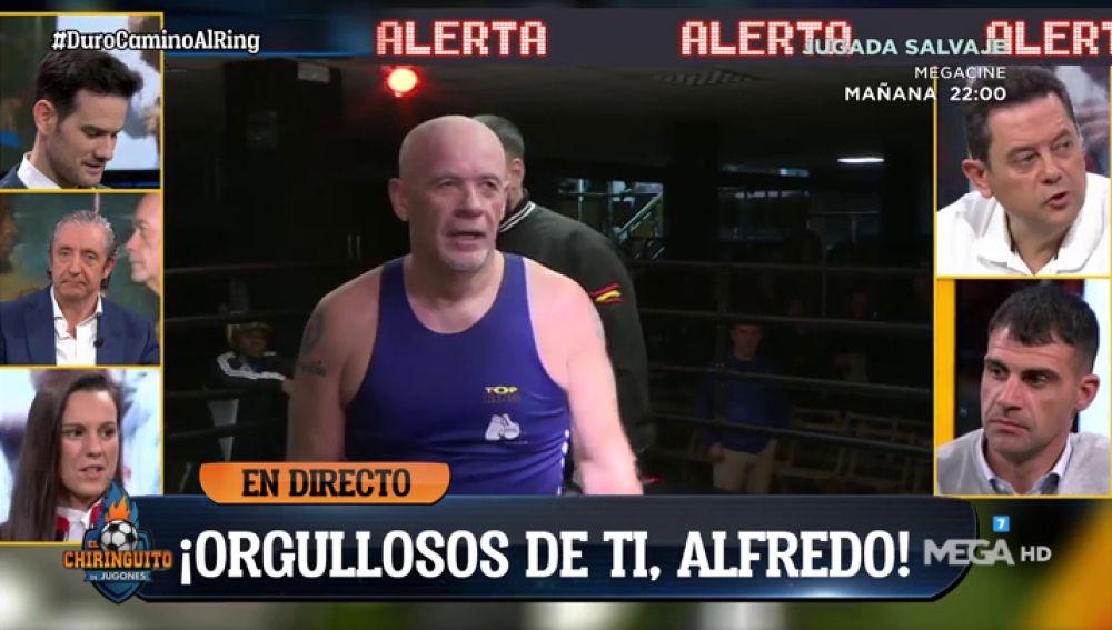 Orgullosos de ti, orgullosos de Alfredo Duro