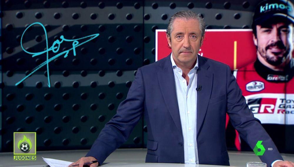 """Josep Pedrerol: """"Fernando Alonso es un ganador. Nunca fracasa el que falla. Fracasa… el que no lo intenta""""."""