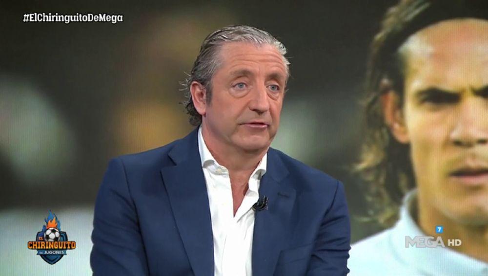 """Josep Pedrerol: """"Todo está encaminado para que Cavani llegue al Atlético de Madrid en junio"""""""
