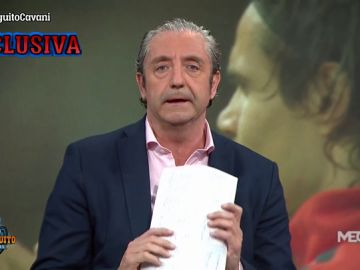 """Josep Pedrerol: """"El domingo hubo una cumbre en París del Atlético de Madrid y el PSG por Cavani"""""""