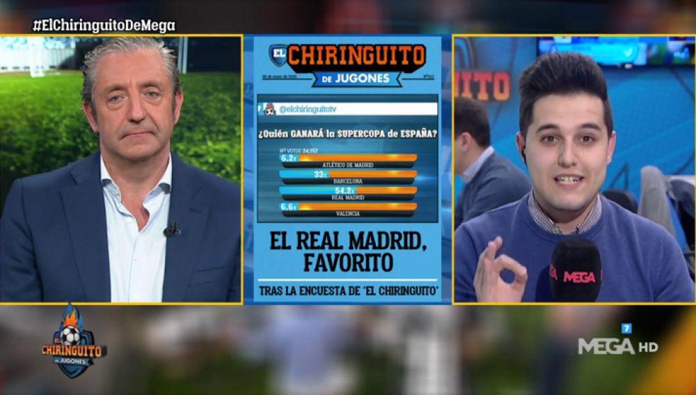 El Real Madrid, favorito para ganar la Supercopa tras la encuesta de 'El Chiringuito'