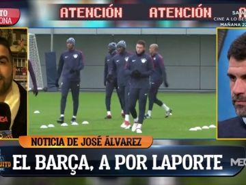 "Exclusiva de José Álvarez: ""Laporte gusta mucho al Barça"""
