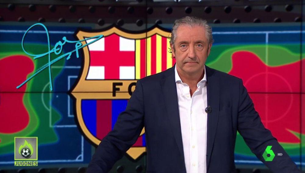 """Josep Pedrerol: """"El Barça ganó 1-0 con 10 dando 1005 pases. Lo demás son milongas"""""""