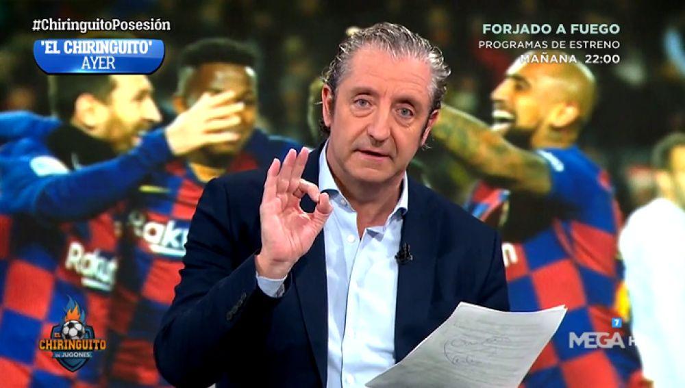 Josep Pedrerol responde a las críticas sobre 'la milonga' de la posesión