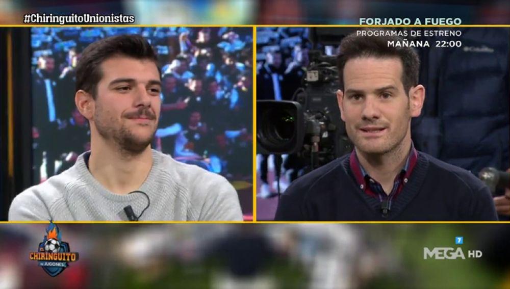 """Carlos de la Nava, jugador de Unionistas: """"Nos mataremos por ganar al Real Madrid"""""""
