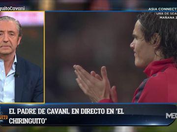 """Luis Cavani, padre de Edinson: """"Tiene ganas de irse porque necesita jugar"""""""