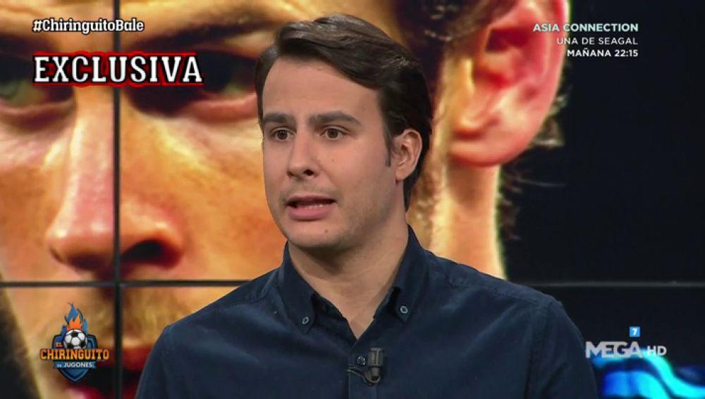 """Juanfe Sanz: """"Florentino ya sabe cuánto está dispuesto a pagar el Tottenham por Gareth Bale"""""""