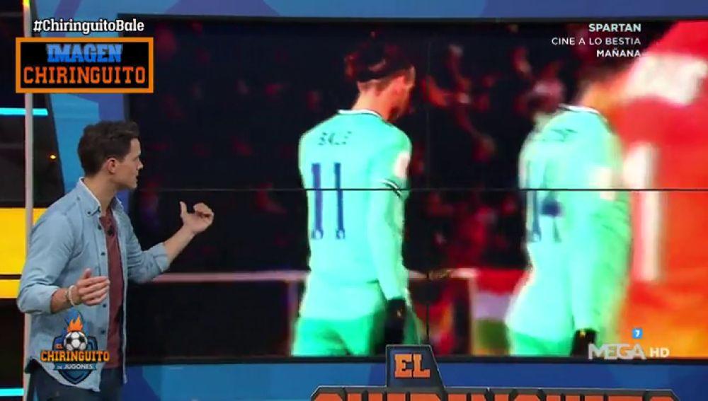 Las imágenes de la no celebración de Bale en su gol