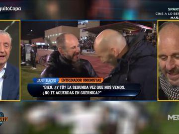 """Jabi Luaces, entrenador de Unionistas: """"Hemos tenido posibilidades de ir a la prórroga contra el Real Madrid"""""""