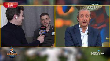 """Pep Caballé, jugador del Ibiza: """"Hemos tenido al Barça contra las cuerdas"""""""